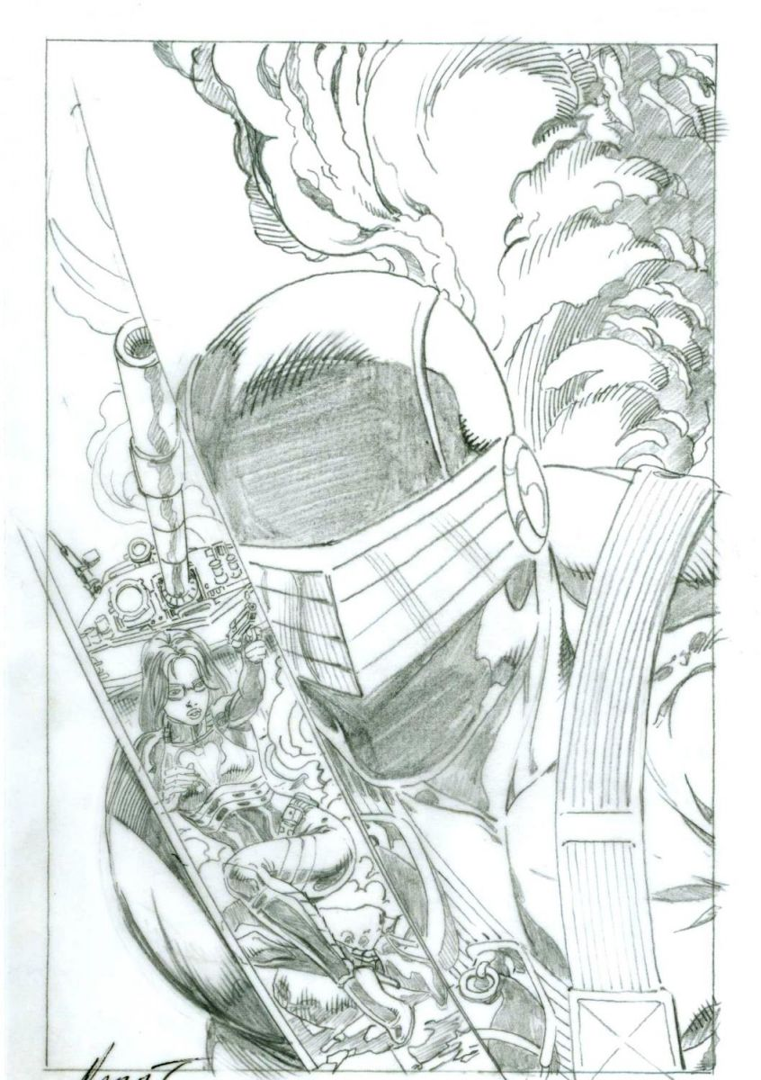 GI Joe 1 original art cover Marat Michaels.jpg