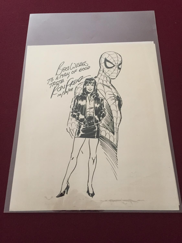 Spiderman Art From 1984 Original Comic Art Cgc Comic