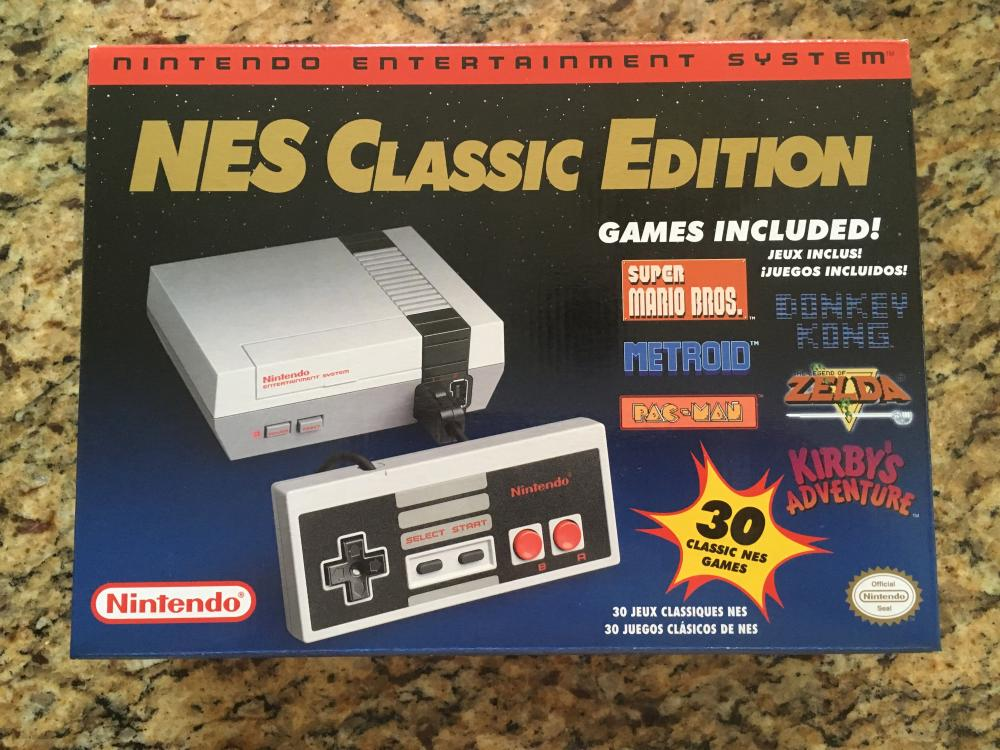 Closed Nes Classic Mini Brand New 200 Shipped Mixed Age