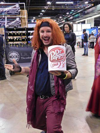 Dr. Pepper Guy from Popculturehq