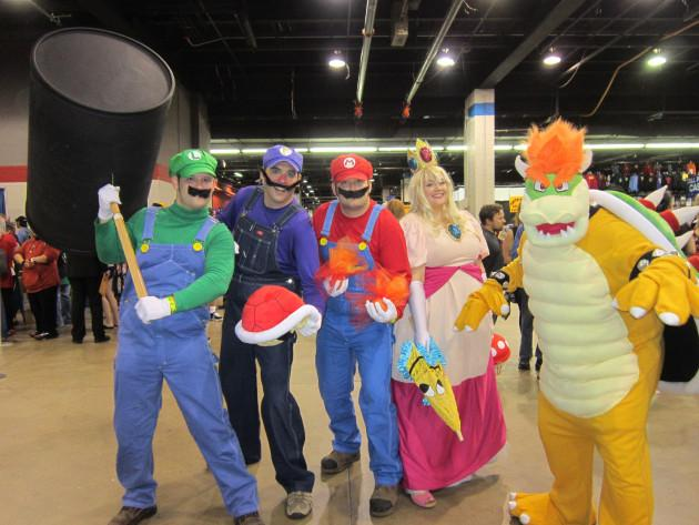 One of Many Mario Gangs from Midlifecrisiscrossover