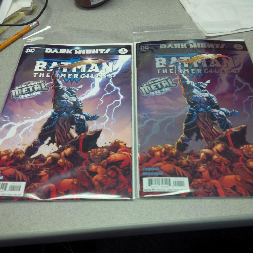 BATMAN THE MURDER MACHINE 1 2nd PRINT VARIANT NM METAL TIE IN 1st IS SOLD OUT