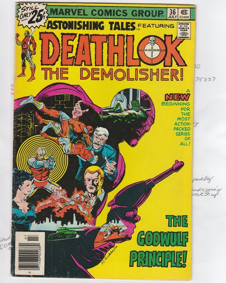 Deathlok the Demolisher #36 the first ever UPC Newstand BarCode on comics in the history of ever, I'm SERIOUS!!.jpg