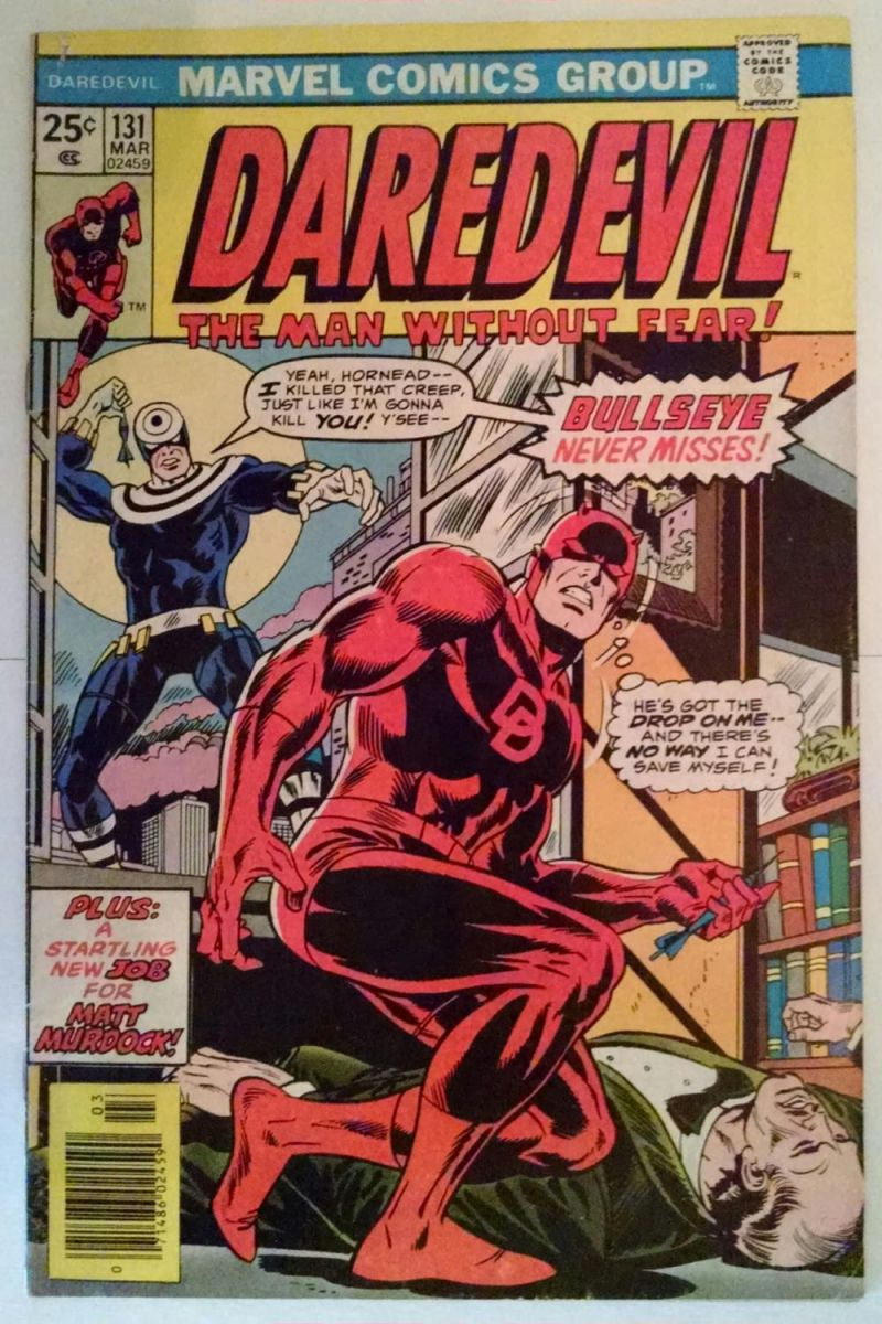 Daredevil 131 GD-VG 3.0 or FN-5.5 Without Tear.JPG