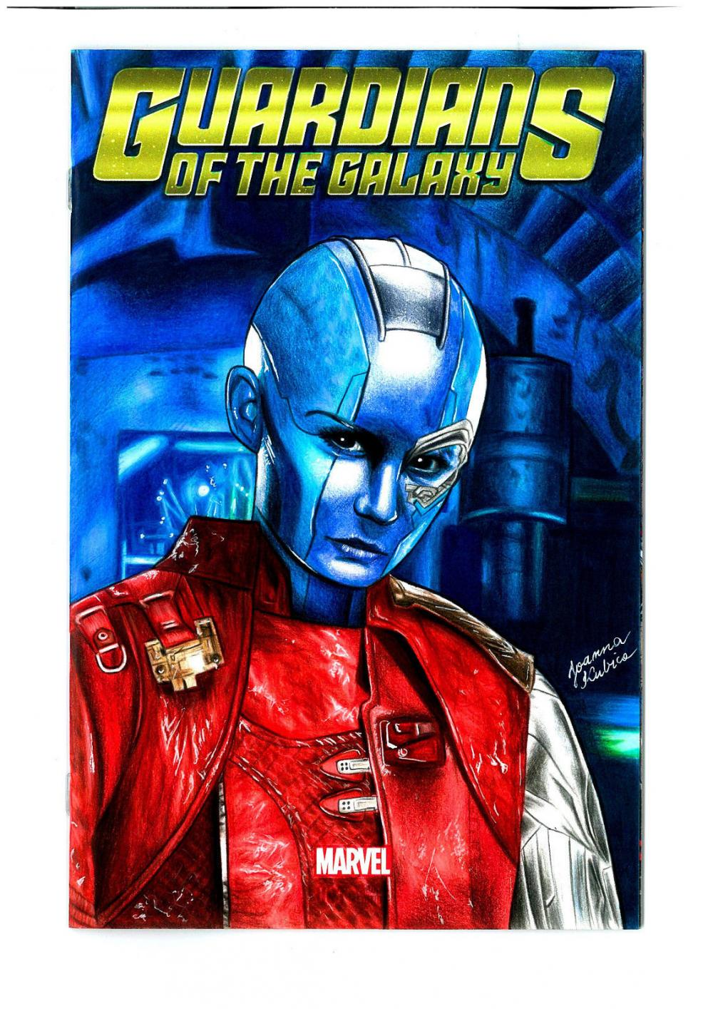 Guardians Of The Galaxy Comic Nebula