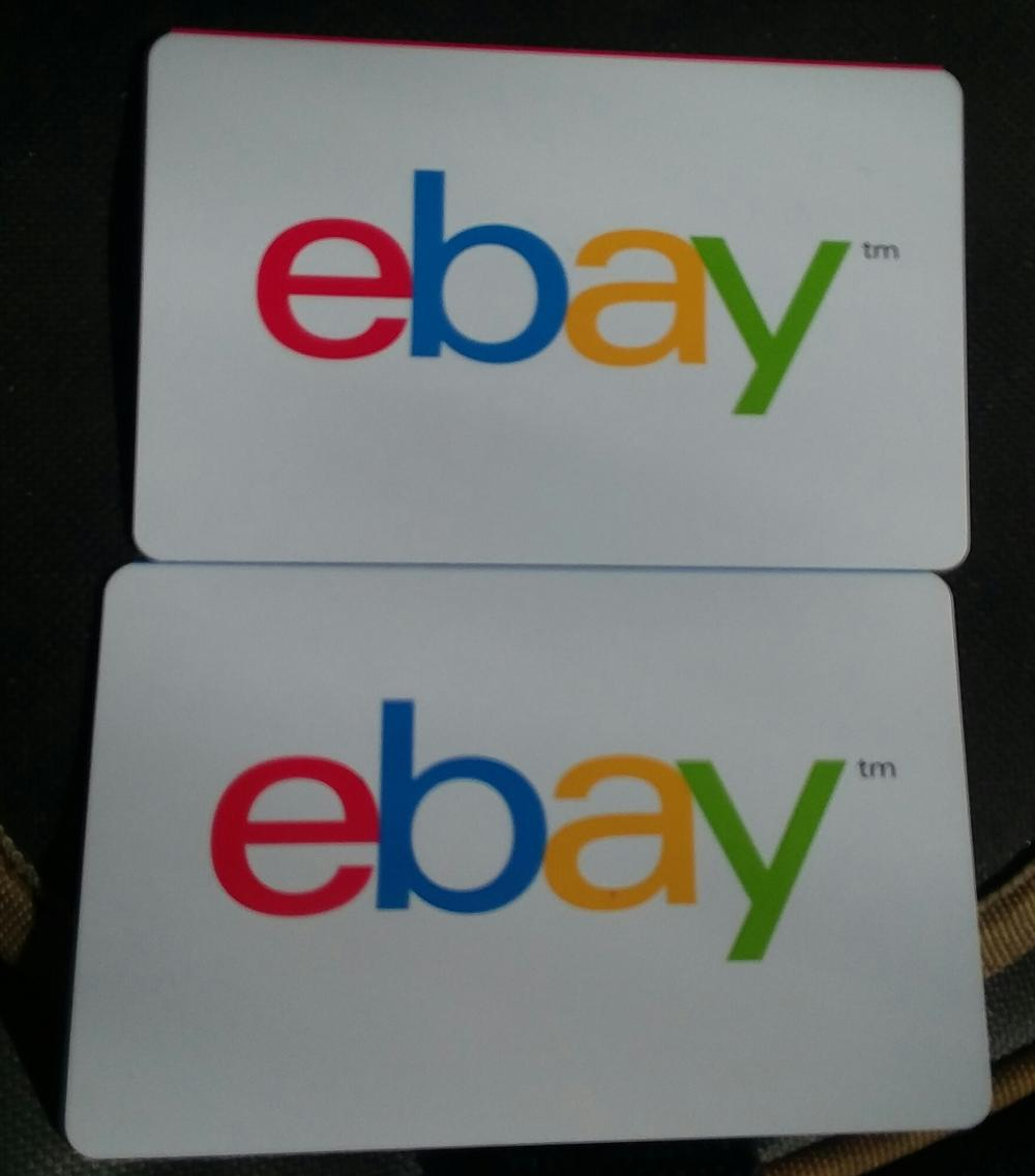 Closed 2 50 Ebay Gift Cards 100 Total Value Mixed Age Threads And Misc Cgc Comic Book Collectors Chat Boards