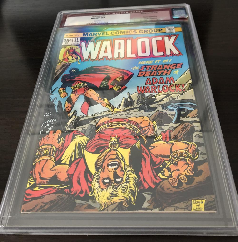 CLOSED (Moved to eBay): Warlock 11 CGC 9.8 White Pages Old Red ...
