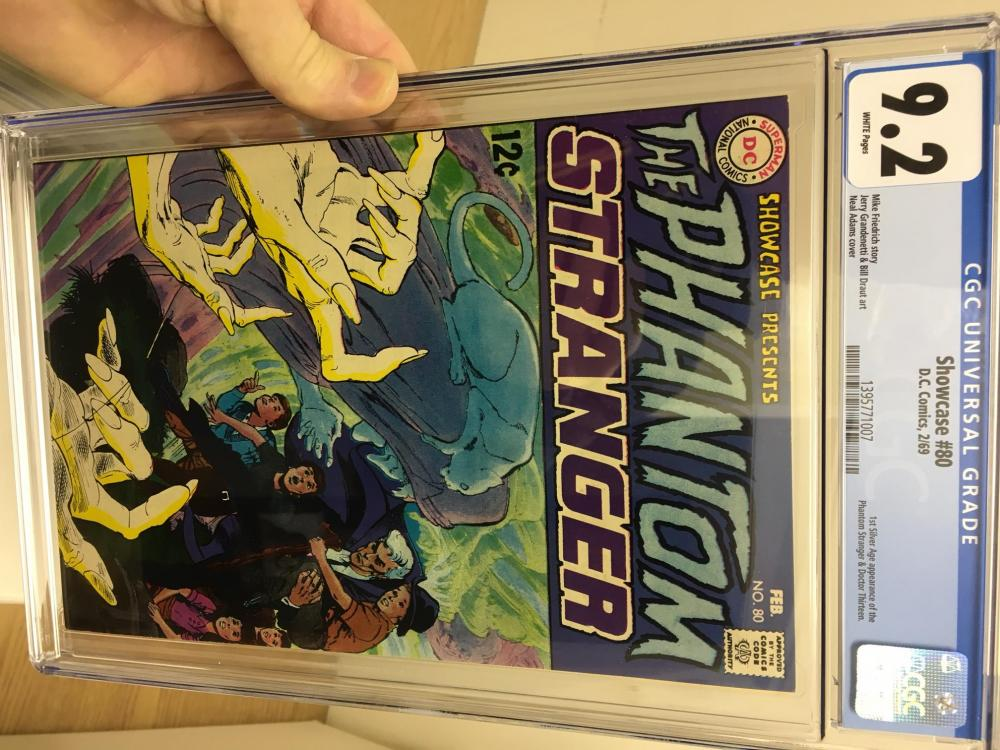 Nice acquisition and meeting The Man - john ivic - CGC Comic