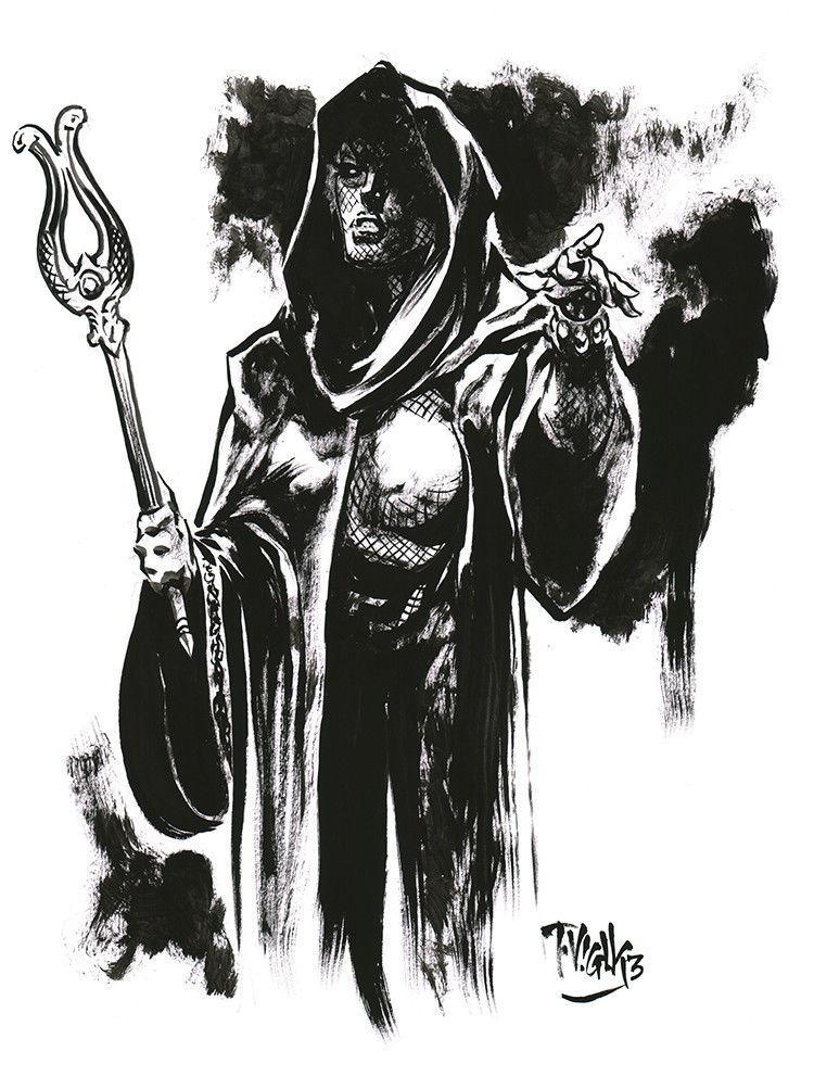 Tim Vigil - Original Comic Art - CGC Comic Book Collectors