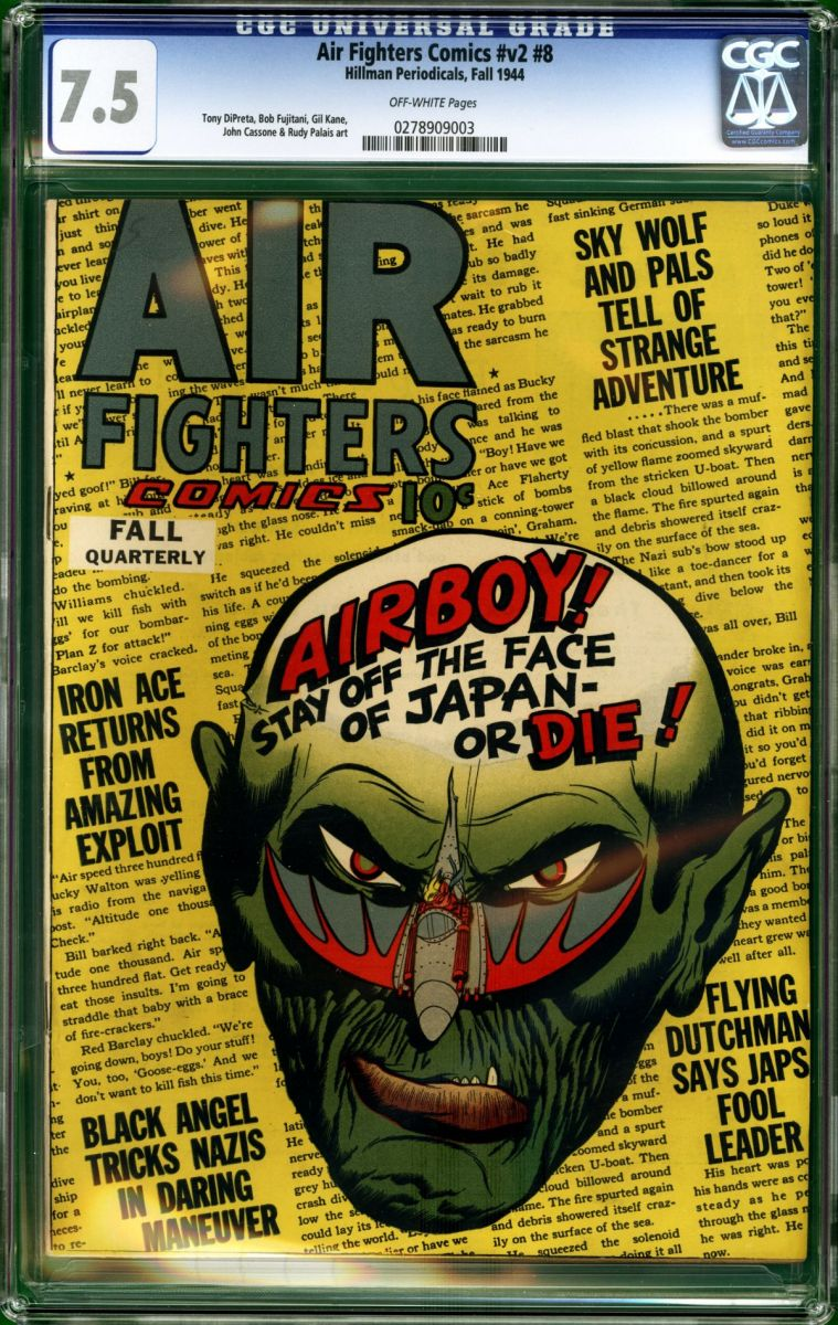 Air Fighters Vol 2 No 8 CGC 7 5 front.jpg