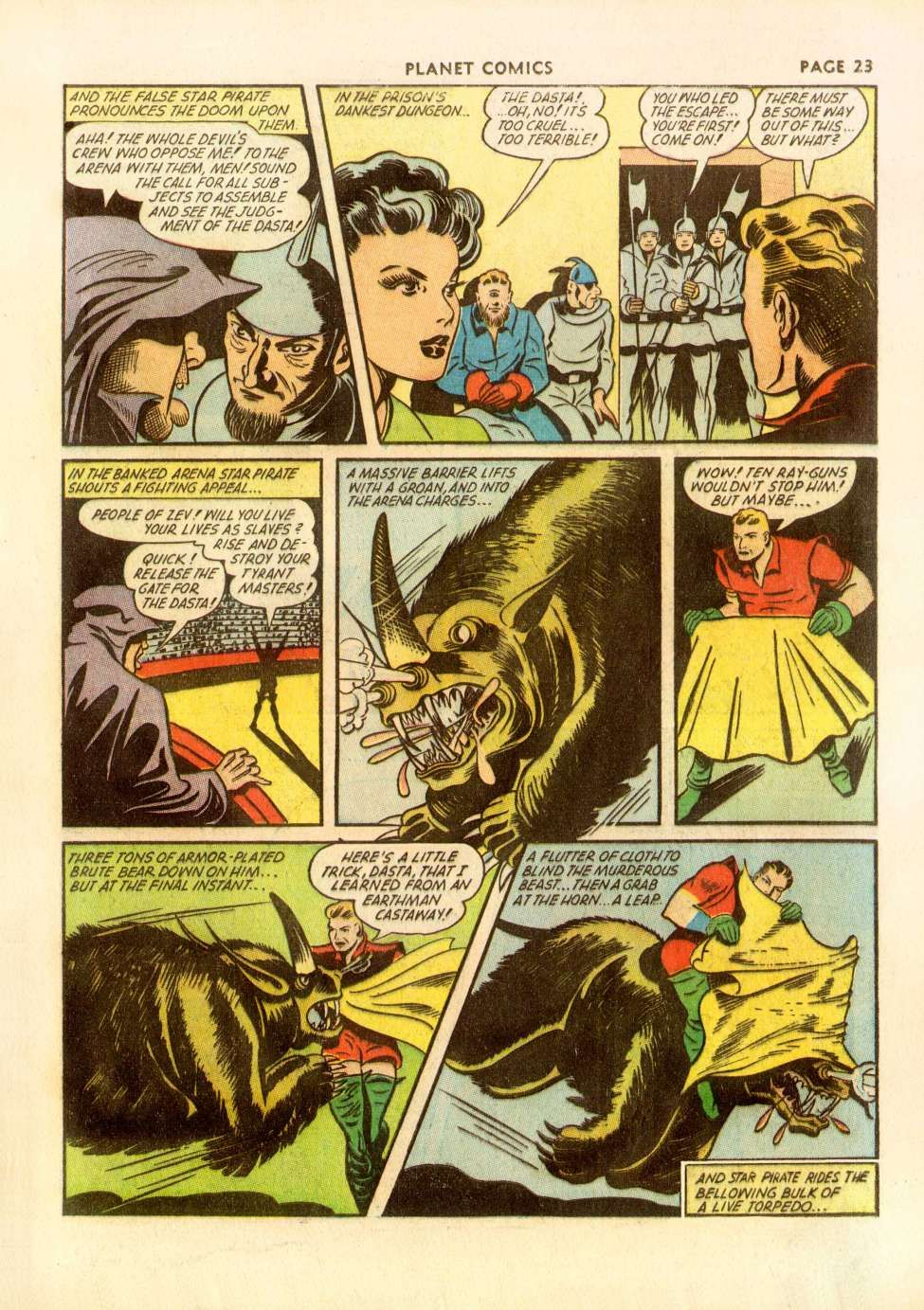 THE GOLD READING ROOM - Page 605 - Golden Age Comic Books