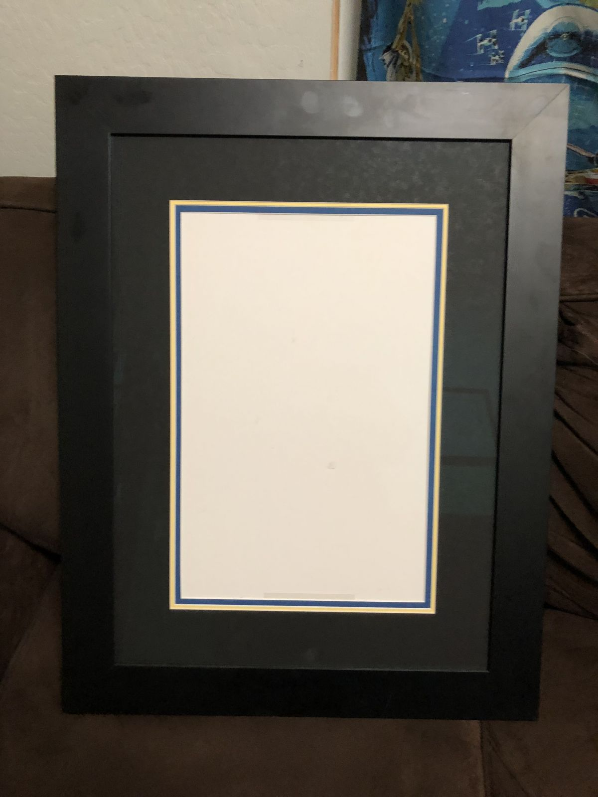 Custom Framing for standard comic art page - Original Comic Art ...