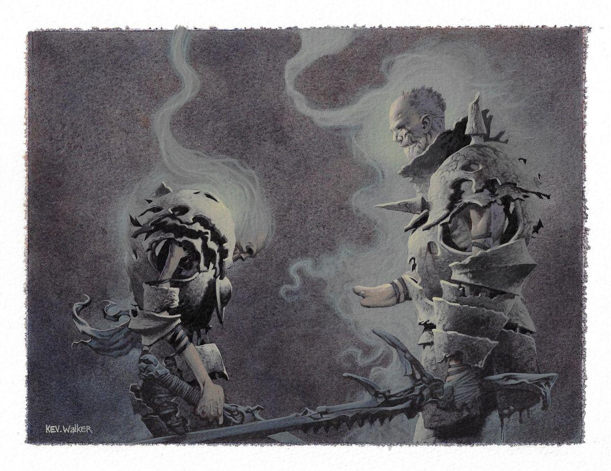 Kev Walker MTG art for sale on FB - Original Comic Art Marketplace