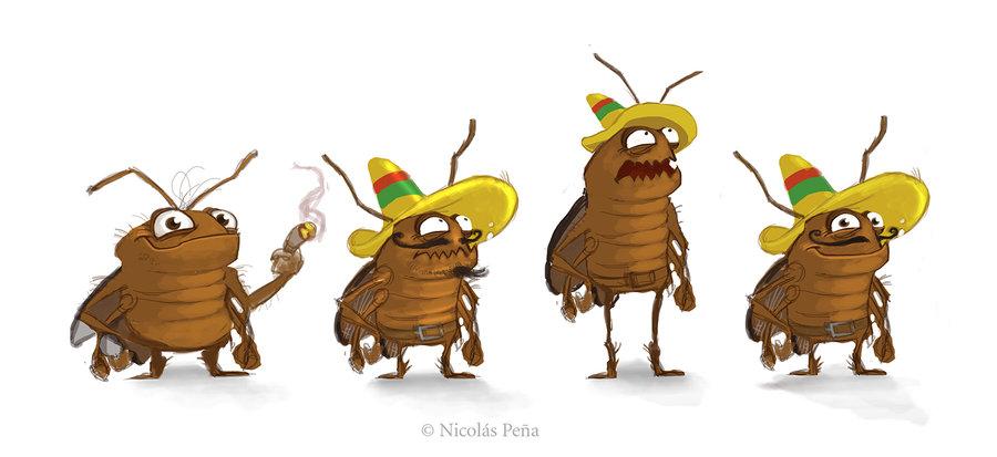 хорошо прикольные картинки таракан ещё несколько примеров