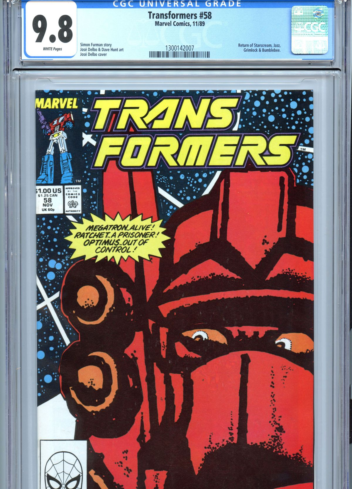 Mister Miracle #1 CGC 9 0 Transformers Marvel in CGC 9 8 NTT #2 CGC