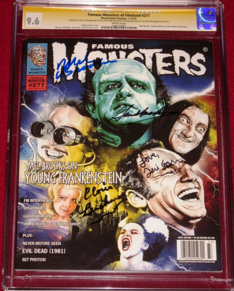 CGC SS Famous Monsters 277 Young Frankenstein Cast a.JPG