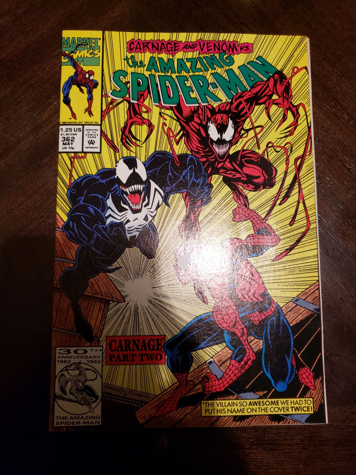 Ebay Seller Claimed this is NM+ Amazing Spider-man 362 - Hey