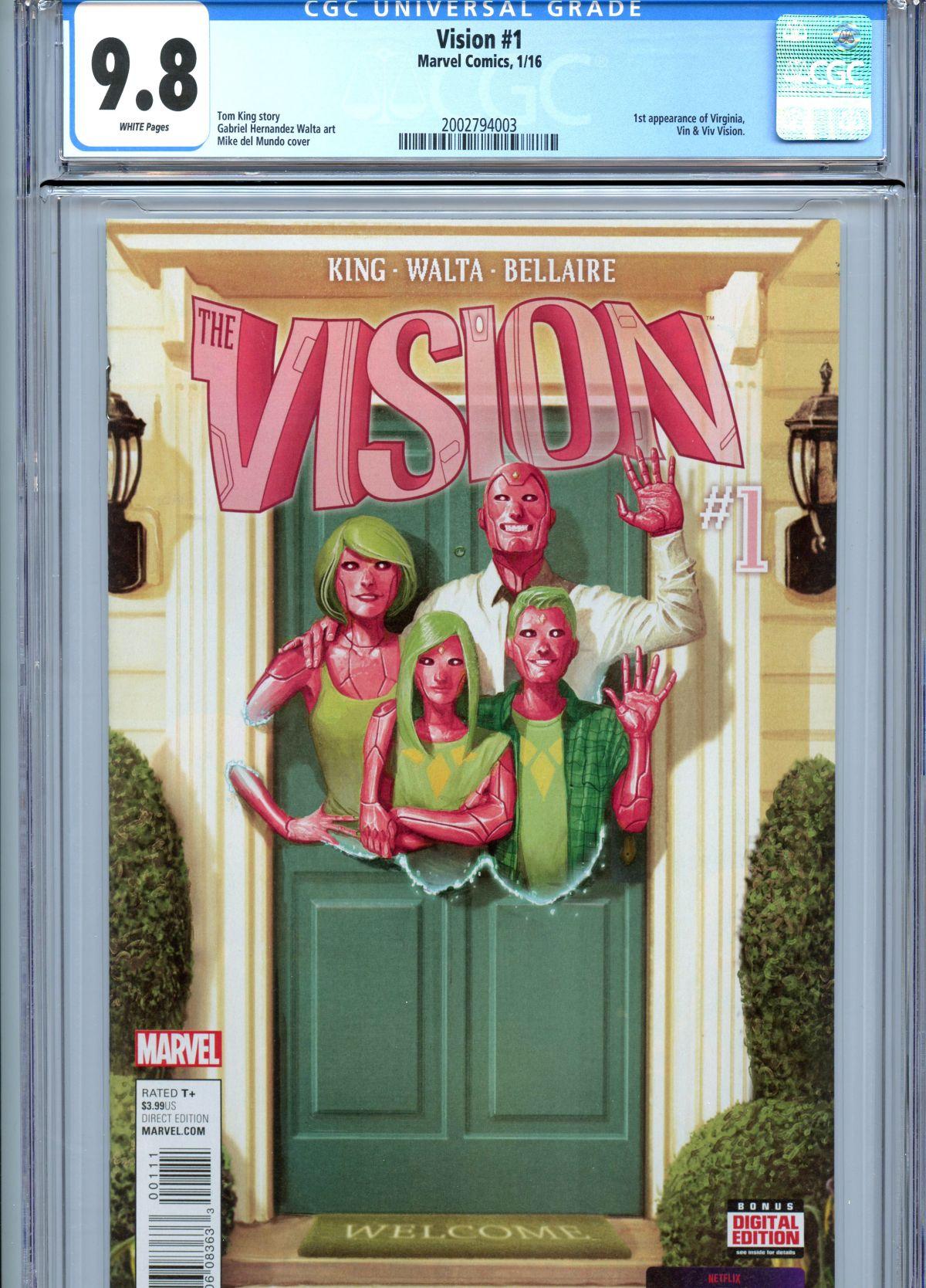 X-Men #141 9 8 Conan #37 9 8 Avengers Ann #10 9 6 Web #32 9 6 Bat