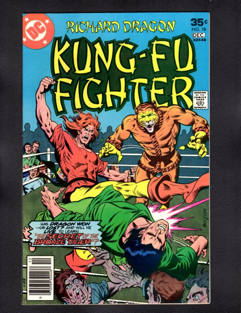$3- Richard Dragon, Kung Fu Fighter #18.jpg