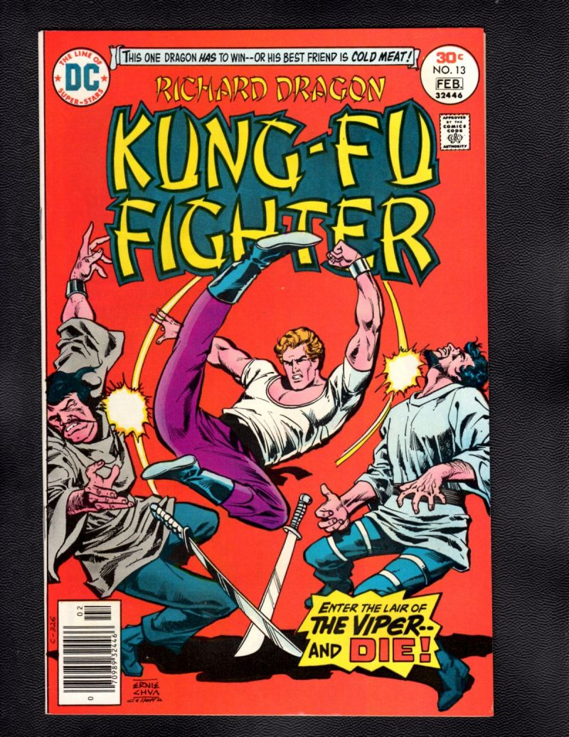 $3- Richard Dragon, Kung Fu Fighter #13.jpg