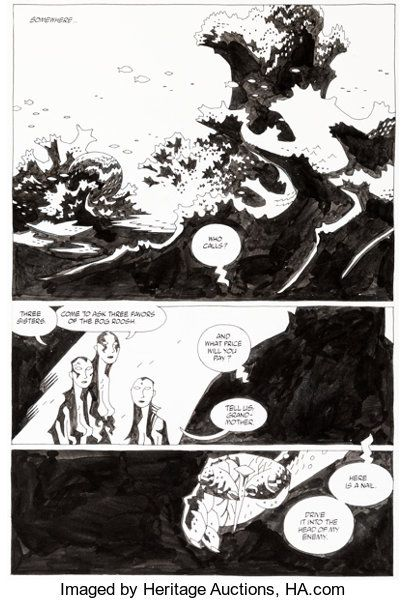 --The Third Wish 1 Story Page 1 Original Art 2002.jpg
