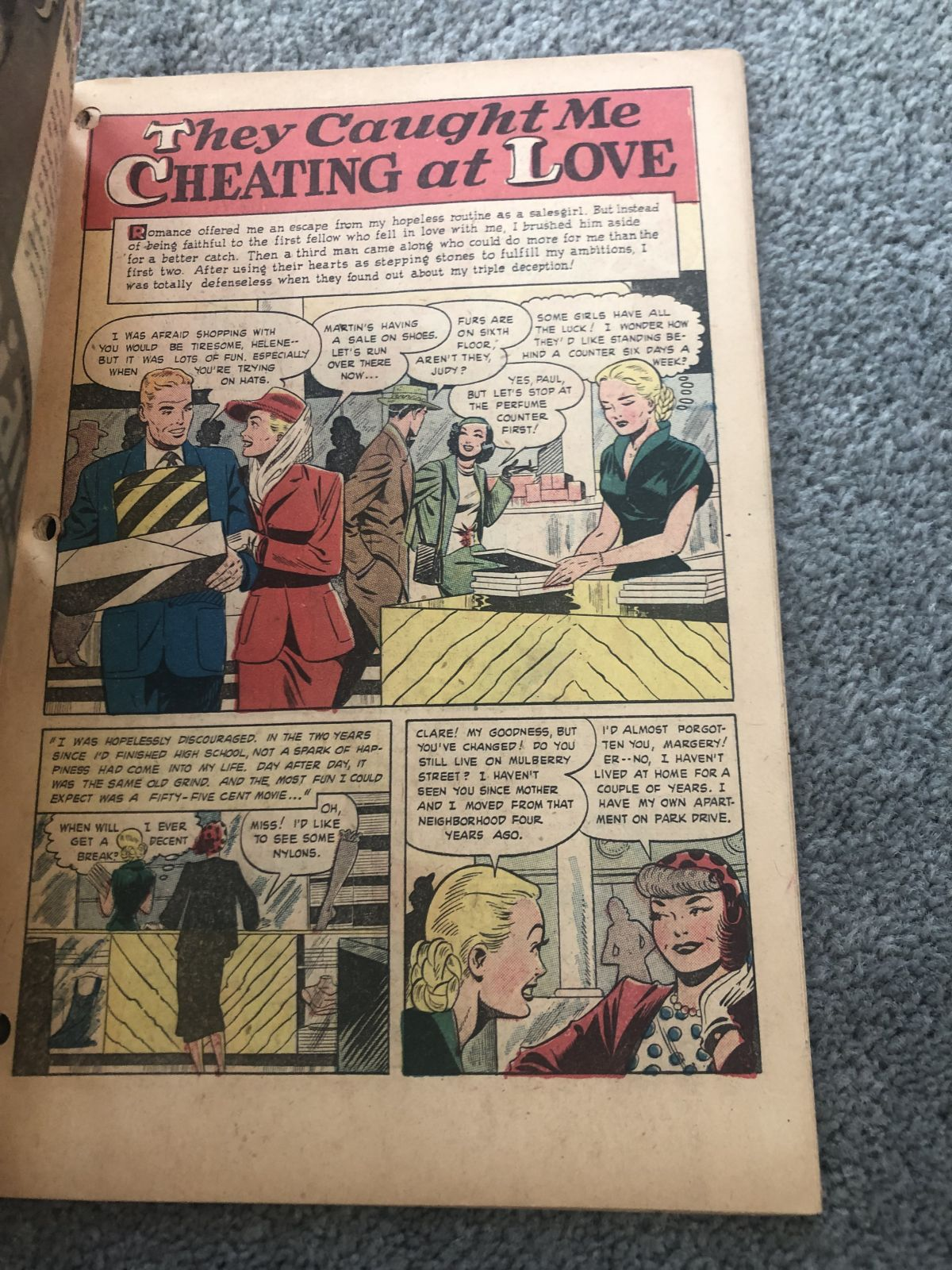 CLOSED] GOLDEN AGE Comics PCH LB Cole & Baker, WW2 - Golden