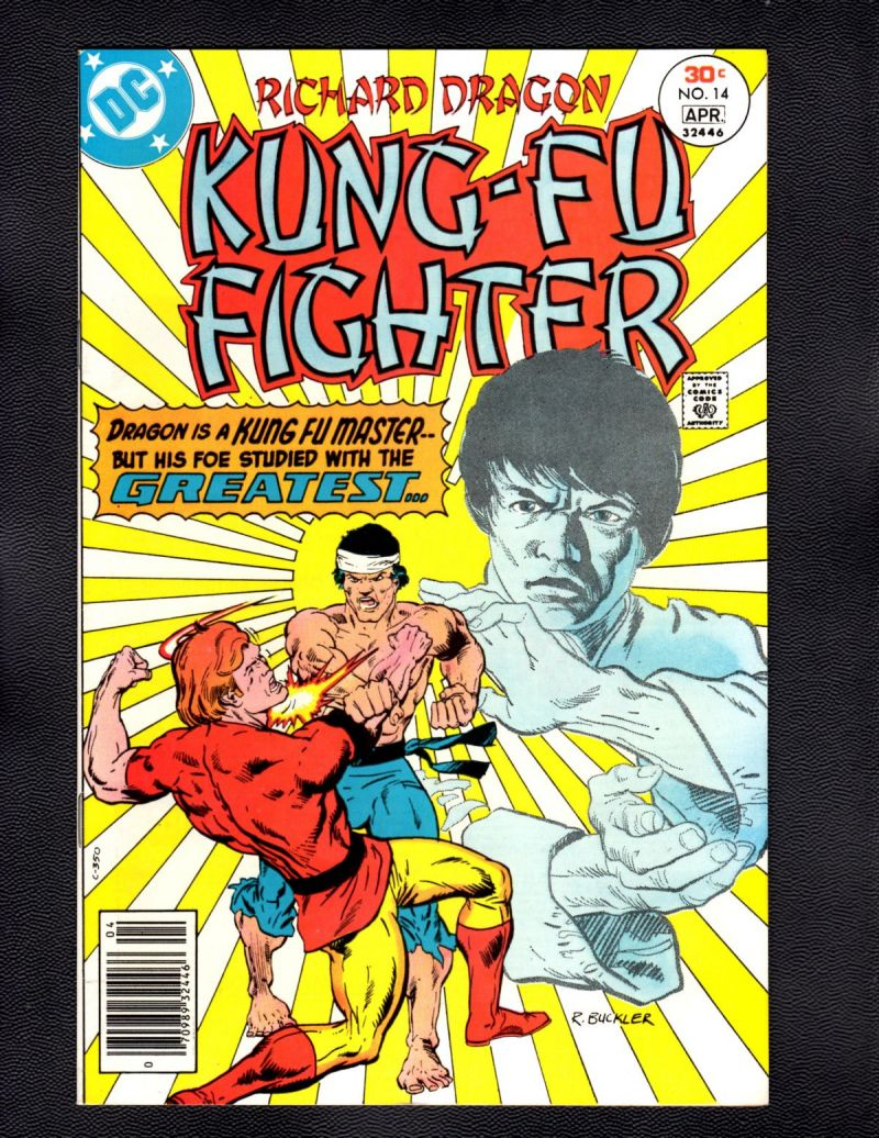 B- Richard Dragon, Kung Fu Fighter #14.jpg