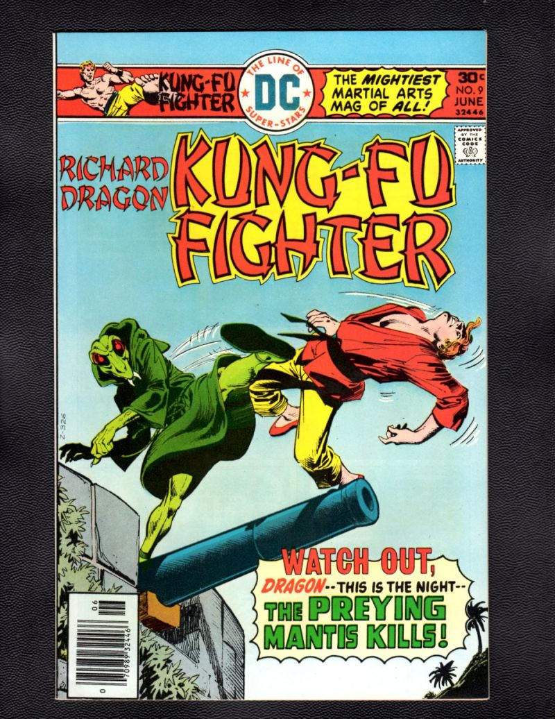 $3- Richard Dragon, Kung Fu Fighter #9.jpg