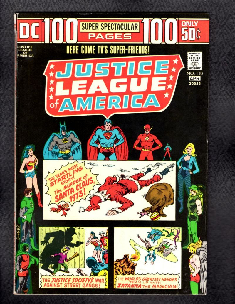 B- Justice League of America #110.jpg