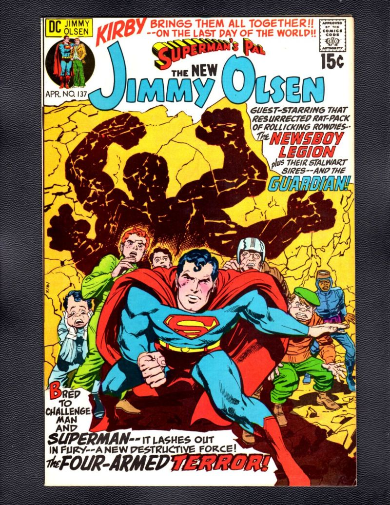 B- Superman's Pal Jimmy Olsen #137.jpg