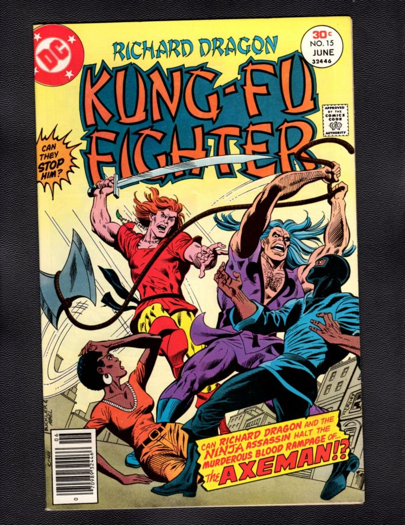 $3- Richard Dragon, Kung Fu Fighter #15.jpg