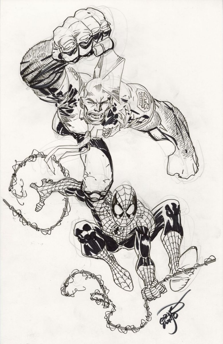 Savage Dragon & Spider-Man by Erik Larsen.jpg
