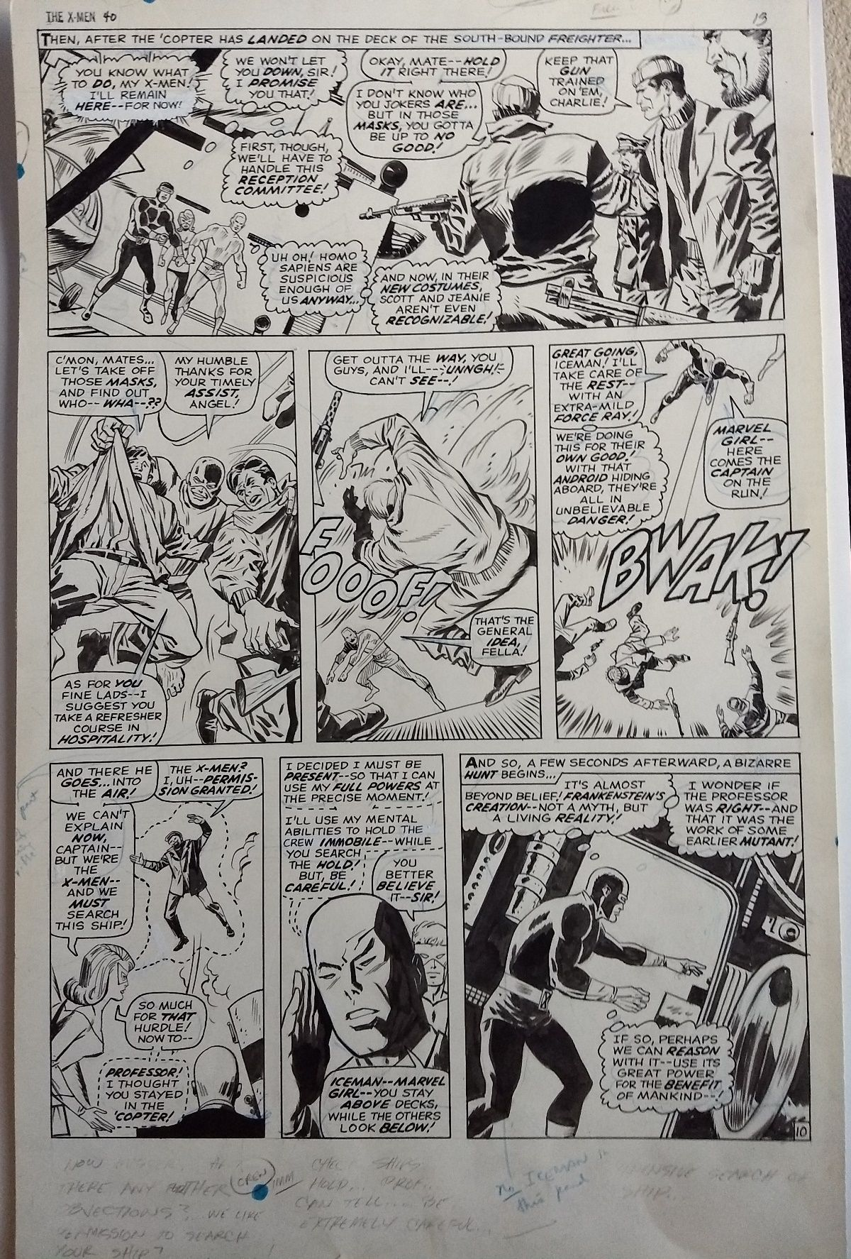 Beyond Bizzarre Now Theyre Hiding >> Closed Closed Silver Age Twice Up Marvel Art X Men Tta Giant