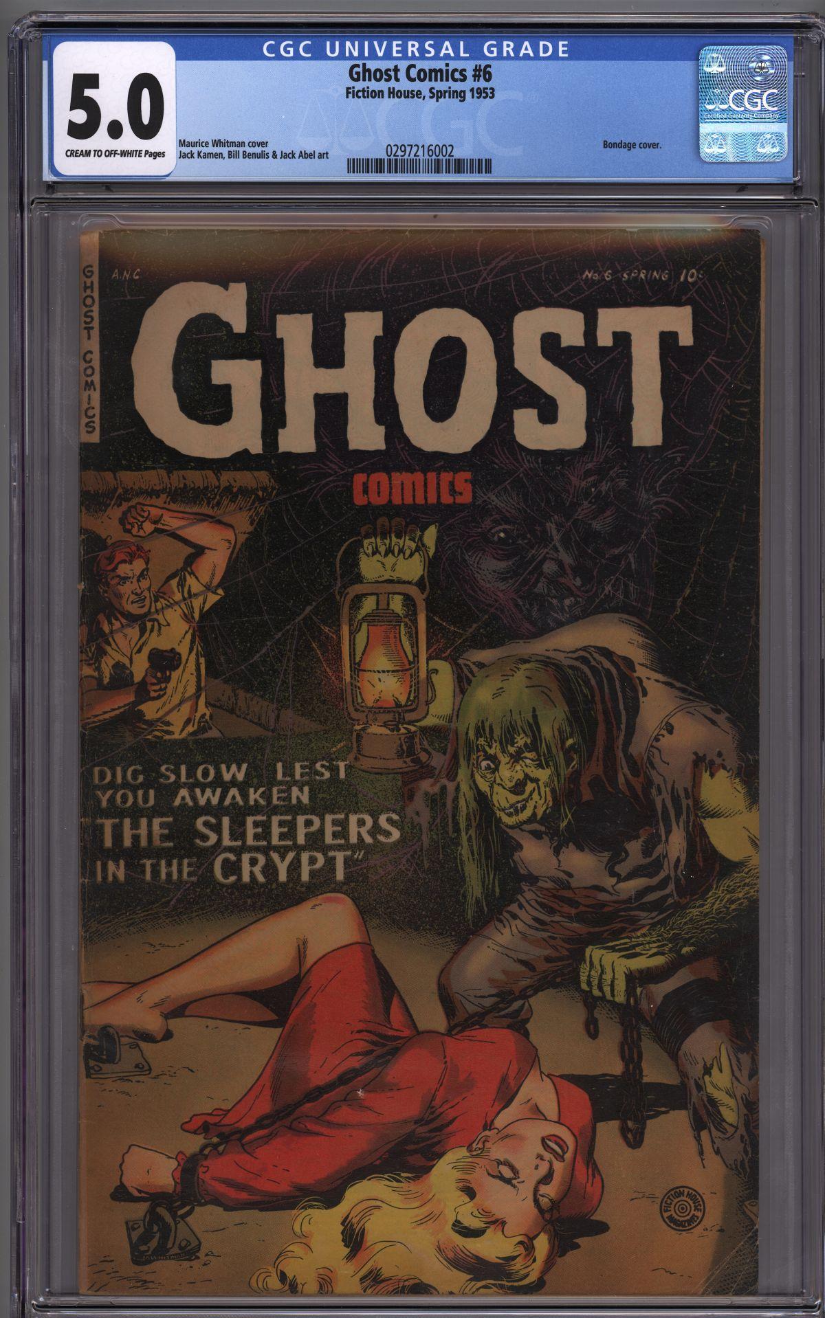 Couple PCH Books Fiction House Ghost Comics #6 , Man O Mars