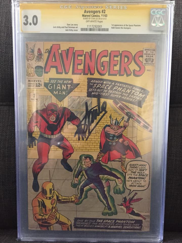 Avengers #2 (Signed by Stan Lee).jpg