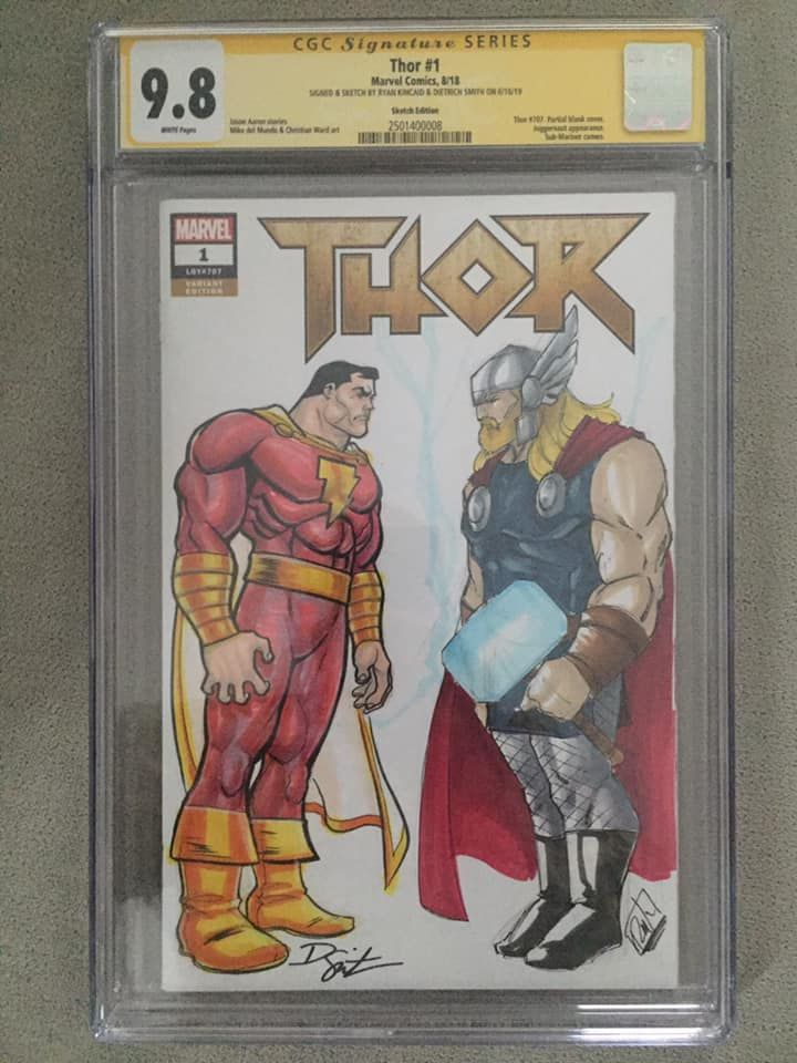 Thor vol 5 #1 (Signed and sketched by Dietrich Smith and Ryan Kincaid).jpg