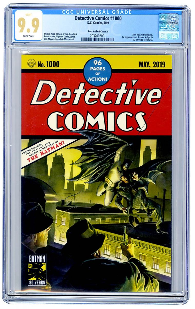 Detective Comics 1000 (Ross Art cover A) CGC 9.9.jpg