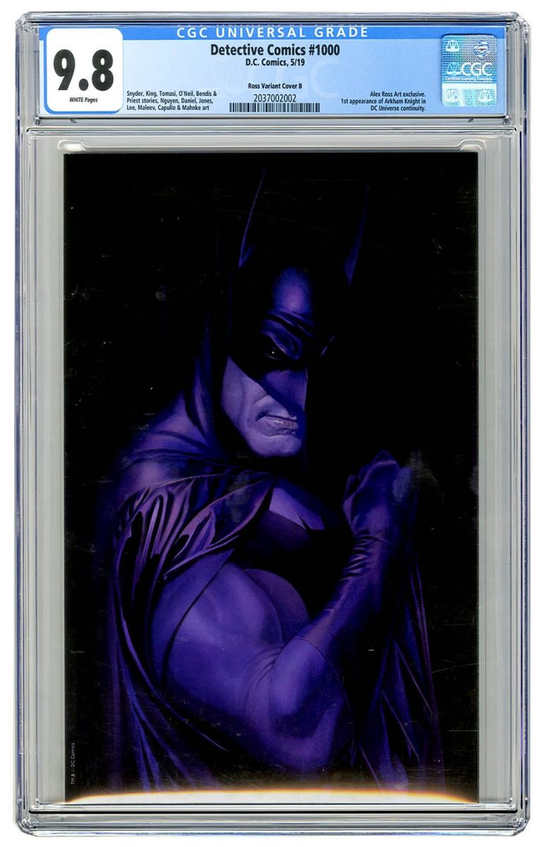 Detective Comics 1000 (Ross Art cover B) CGC 9.8.jpg
