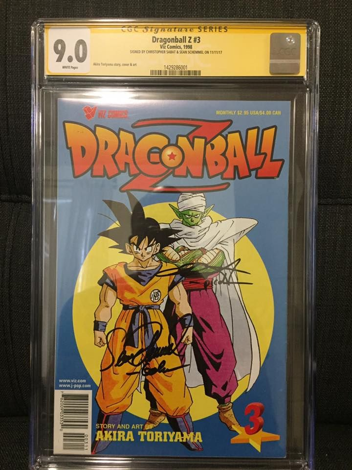 Dragonball Z Part 1 #3 (signed by Christopher Sabat and Sean Schemmel).jpg