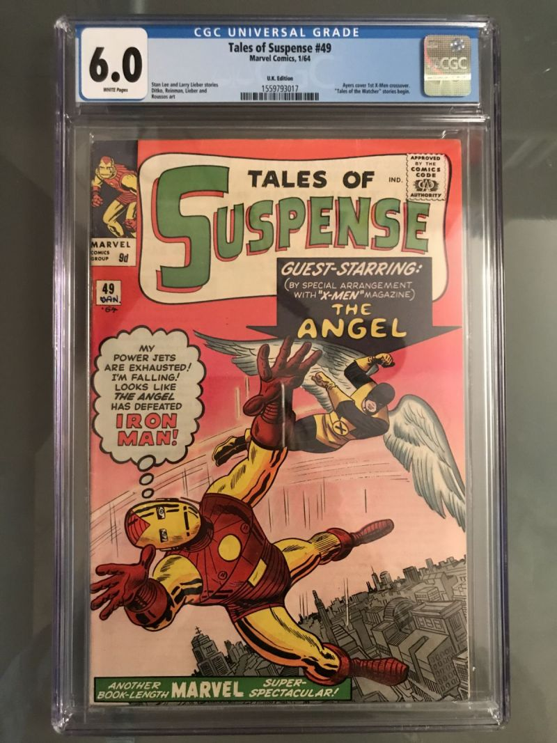 Tales of Suspense #49 UK Edition CGC 6.0 white pages.JPG