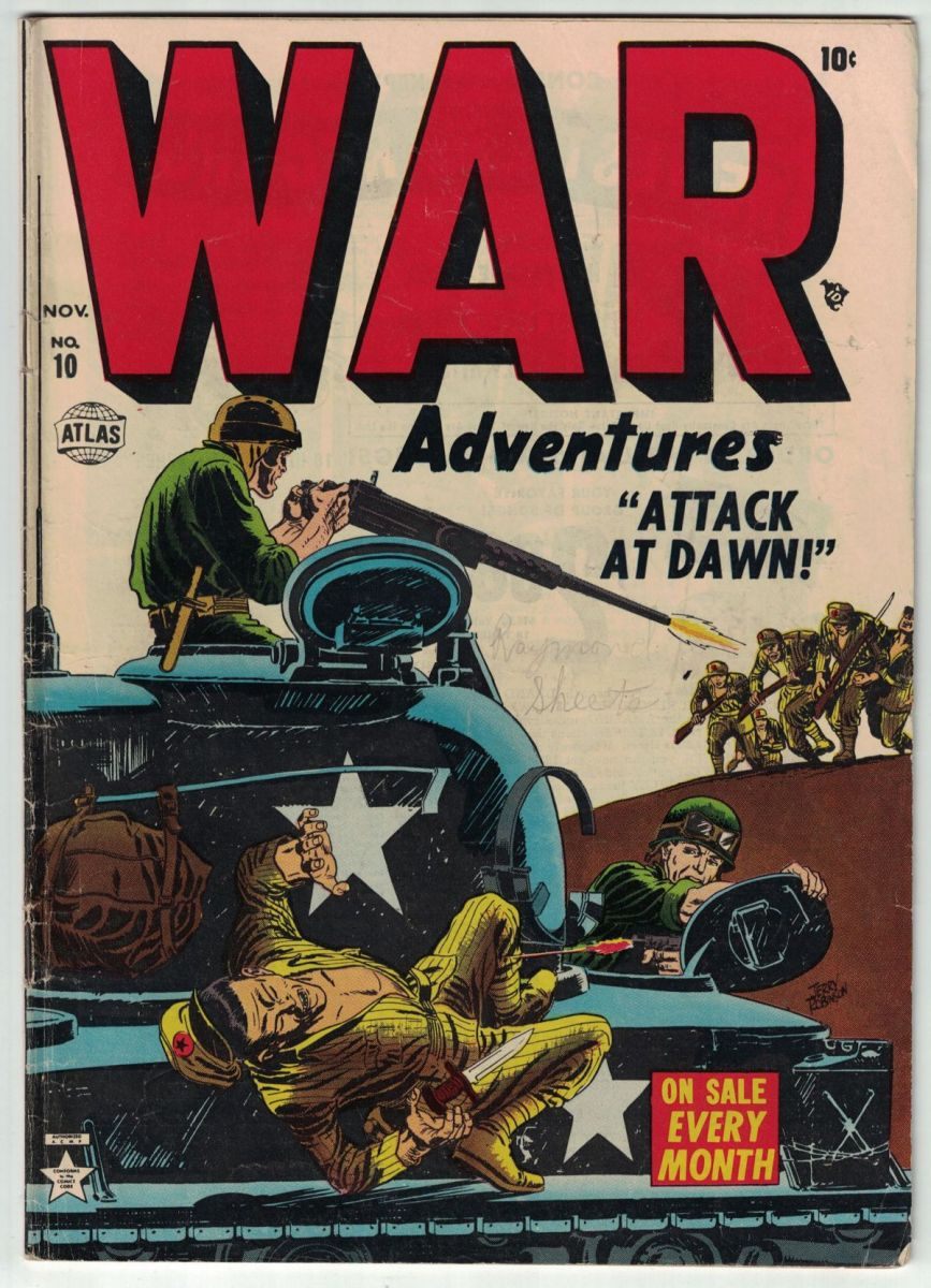 Make War No More - Freshly CGC War Books Sales included SA Archie