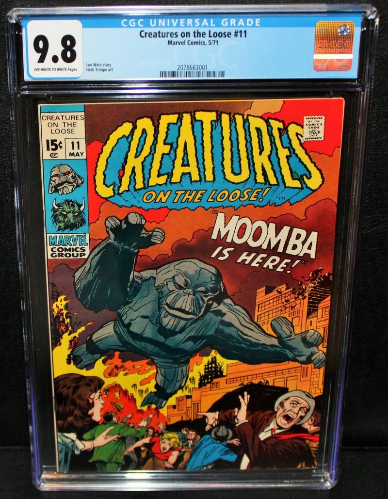 Creatures on the Loose #11 (CGC 9.8).JPG