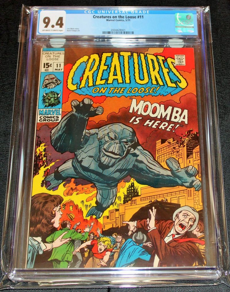 Creatures on the Loose #11 (CGC 9.4).JPG