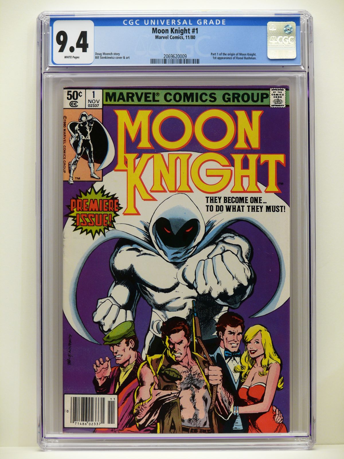 Moon Knight 1 Cgc 9 4 For Only 51 00 Ebay Auction Ending Today Comics Market Sales Advertising Ebay Dealers Etc Cgc Comic Book Collectors Chat Boards