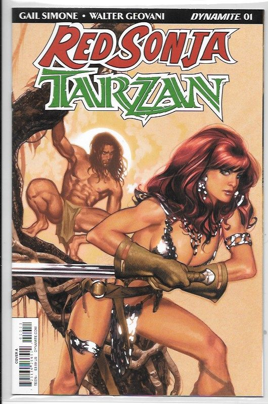 Red Sonja Tarzan 1 Hughes  NM:NM+ $3.jpeg