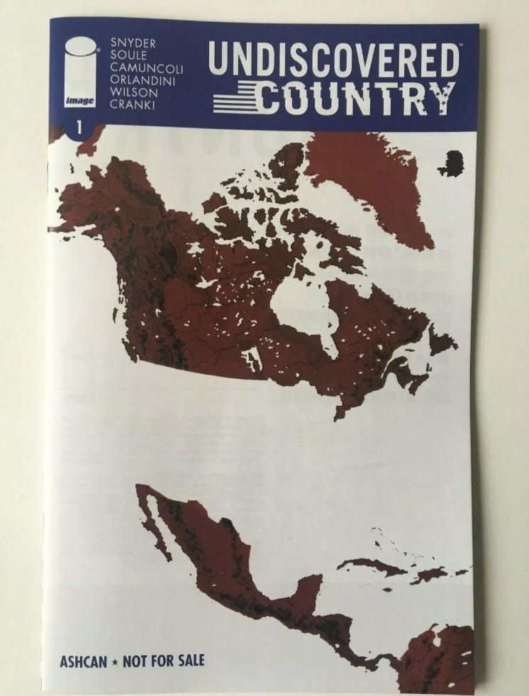 UNDISCOVERED COUNTRY #1 2 3 4 5 6 Cover A Image Comic Book Set NM First Print