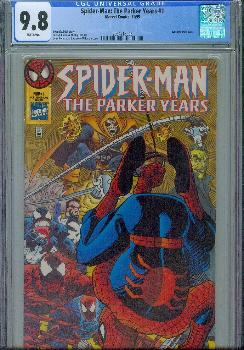 spider-man the parker years #1 cgc 9.8 l.jpg