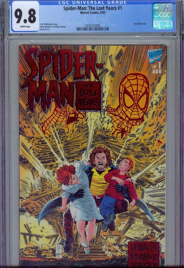 spider-man the lost years #1 cgc 9.8 l.jpg