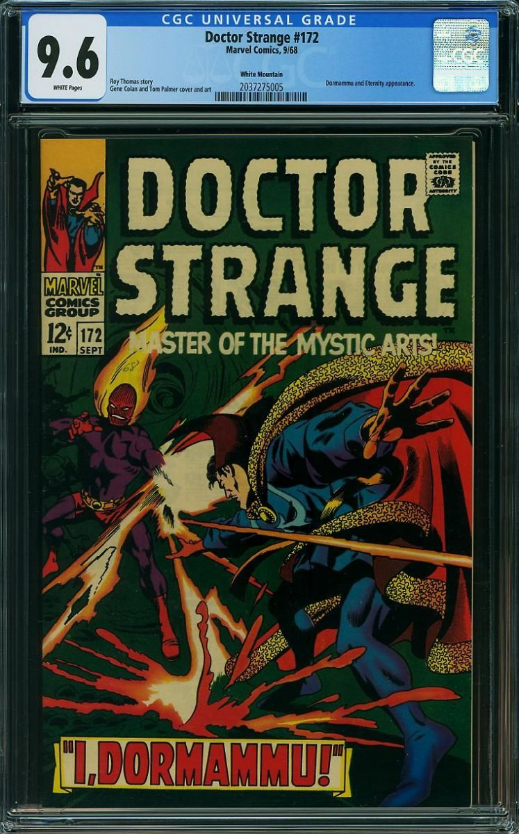 Doctor Strange 172 9.6 w White Mountain front.jpg