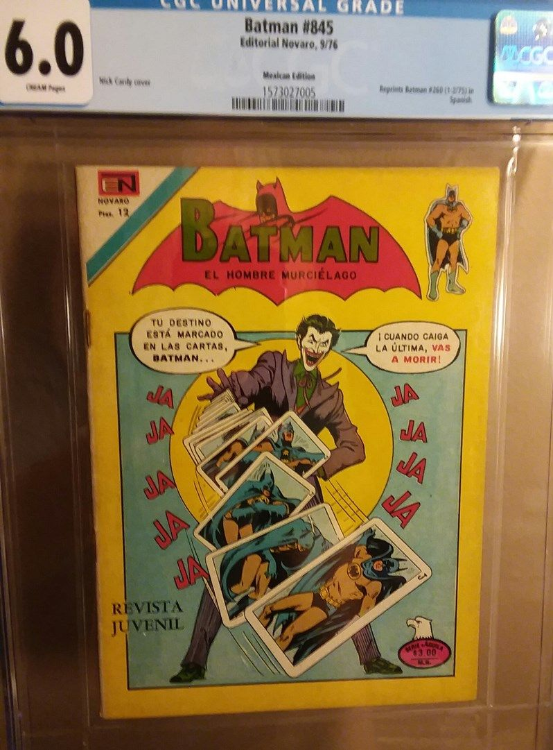 Batman 260 6.0 c Mexican Edition front.jpg